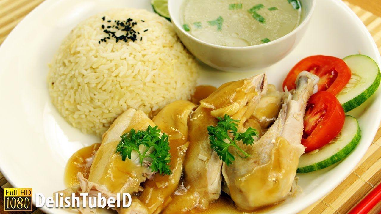 Resep Nasi Ayam Hainan Youtube Resep Makanan Makanan Resep