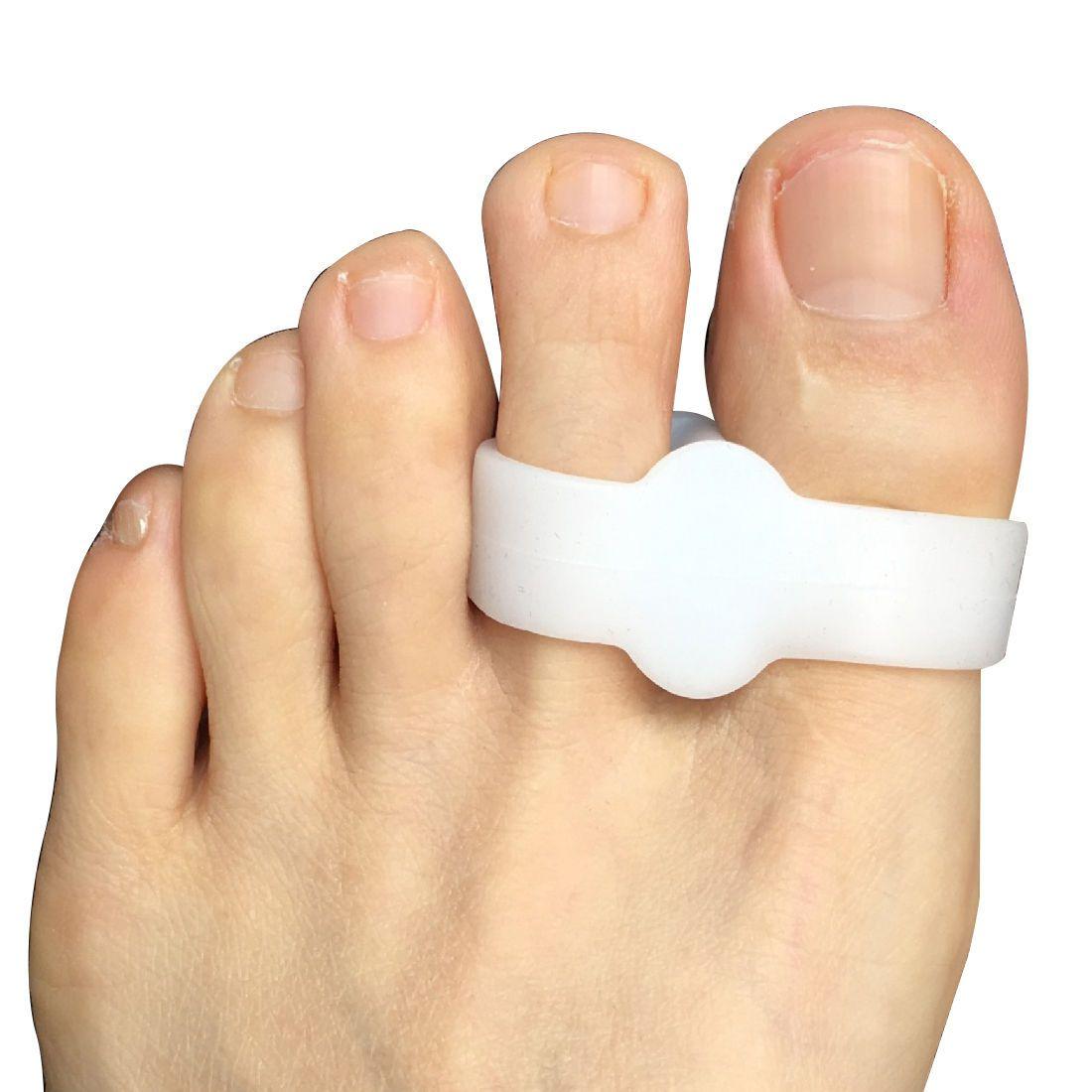 Silicone Gel Bunion Splint Big Toe Overlapping Spreader Protection Hallux Valgus Correction 1pair Foot Fingers Separator Thumb Protect 099 Corrector Ebay Fashion