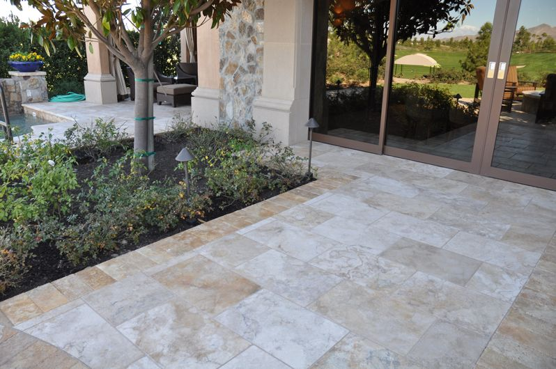 Bedrosians Tile - Travertine | Patio Ideas | Pinterest on Travertine Patio Ideas id=55652