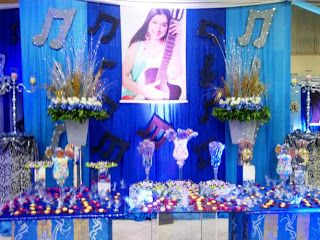 Decoracion 15 a os tematica musical celsior eventos proyectos que debo intentar pinterest - Amadeus decoracion ...