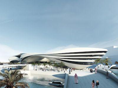 Arquitectorium: Museo de arte moderno de Dubai, diseñado por Nstud...