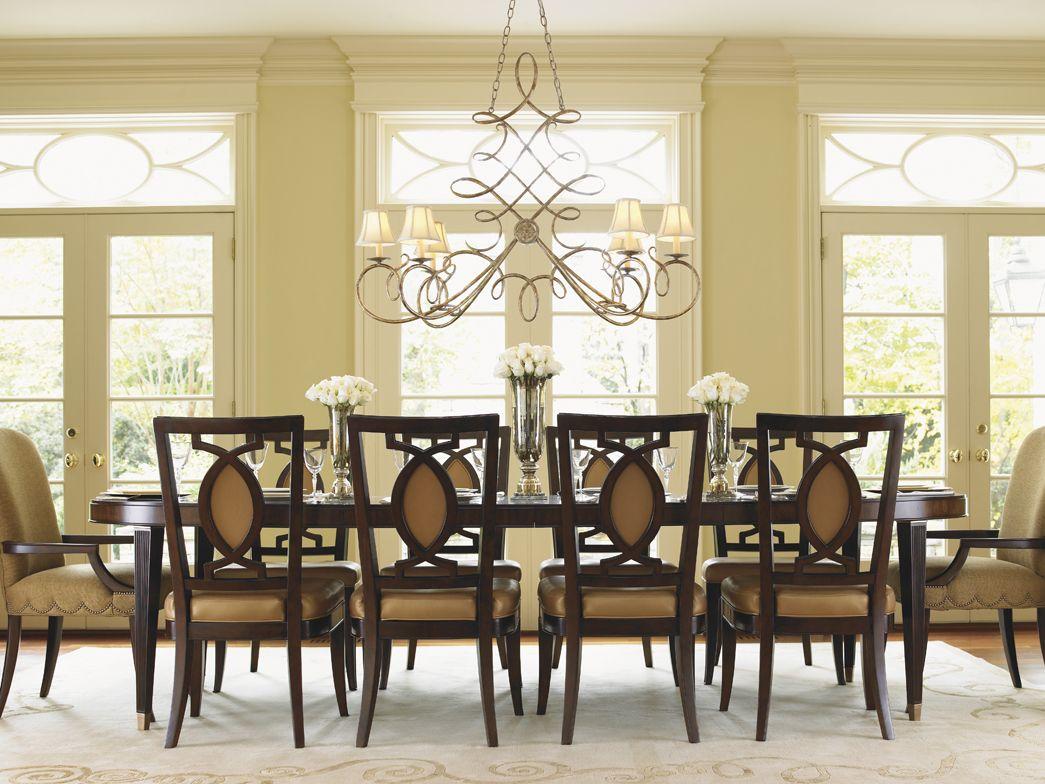 st tropez divonne dining table seats 10 lexington home on top 10 interior paint brands id=95184