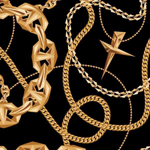 All Burgundy Gold Chain Wallpaper Pack Gold Chain Wallpaper Gold Gold Chains