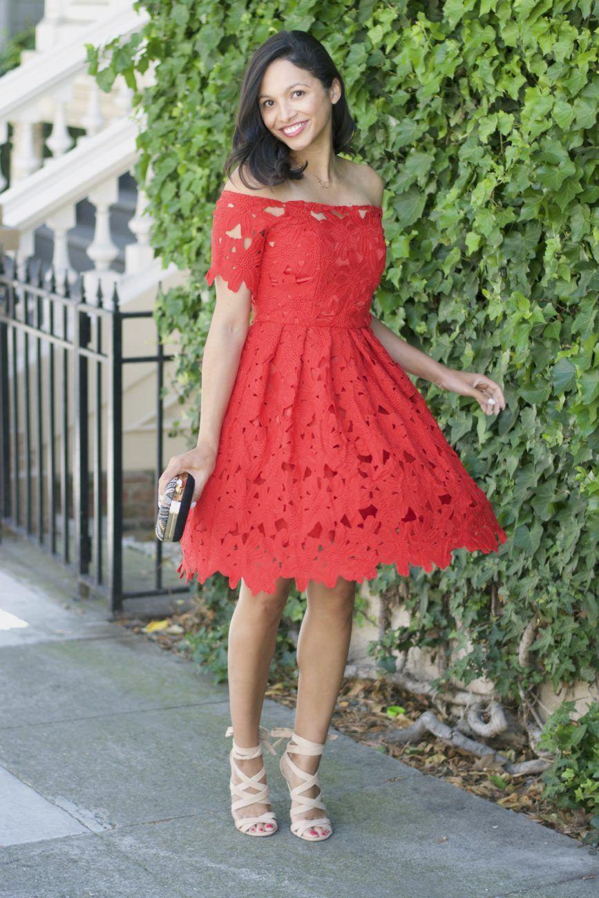 25 red sundress ideas