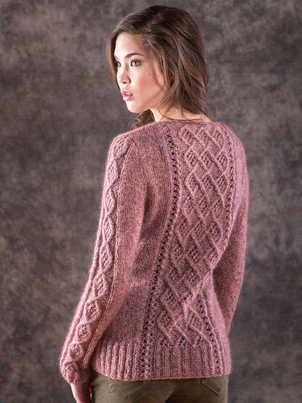 Berroco Briza Mori Pullover Knitting Pattern 361 PDF | Pinterest ...