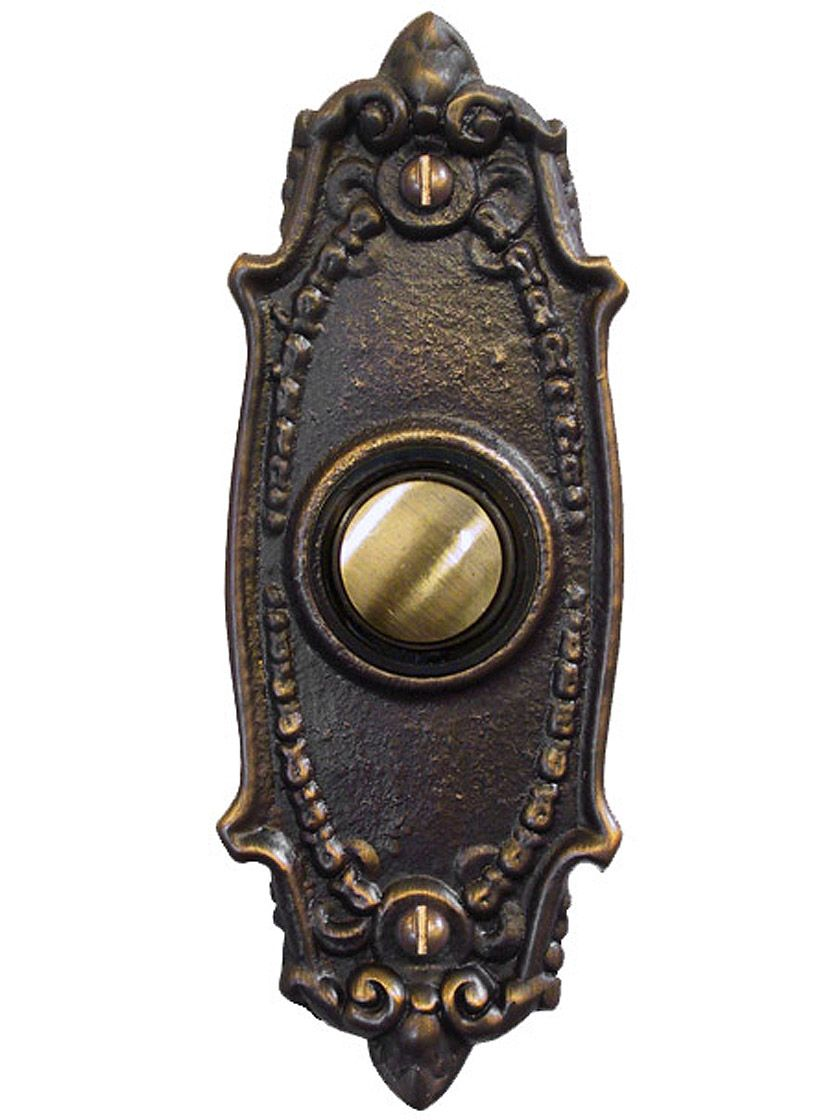Entry Door Buzzer Buttons Victorian Drawing Room Call Bell Butto