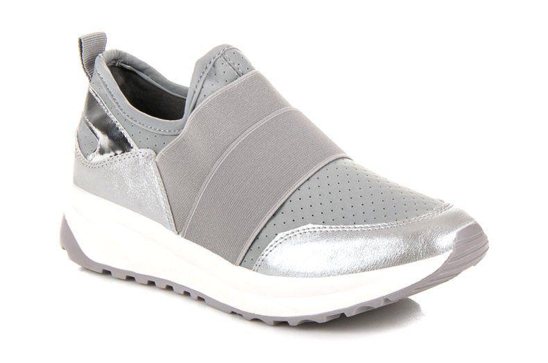 Wsuwane Buty Sportowe Szare Sneakers Puma Fierce Sneaker High Top Sneakers