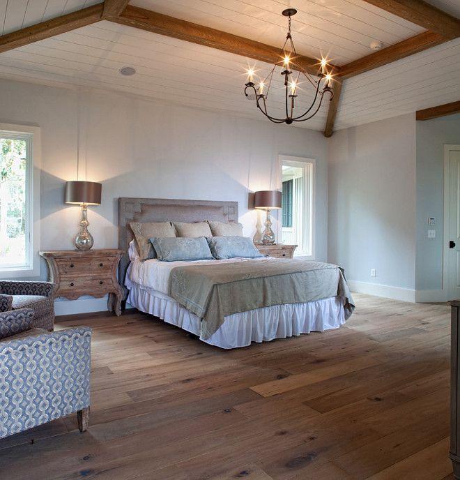 Bedroom Hardwood Floor Hardwoodfloor Bedroomhardwoodflooring Hardwoodflooring Oiledfinished Whiteoak William Byrd Custom Homebuilders
