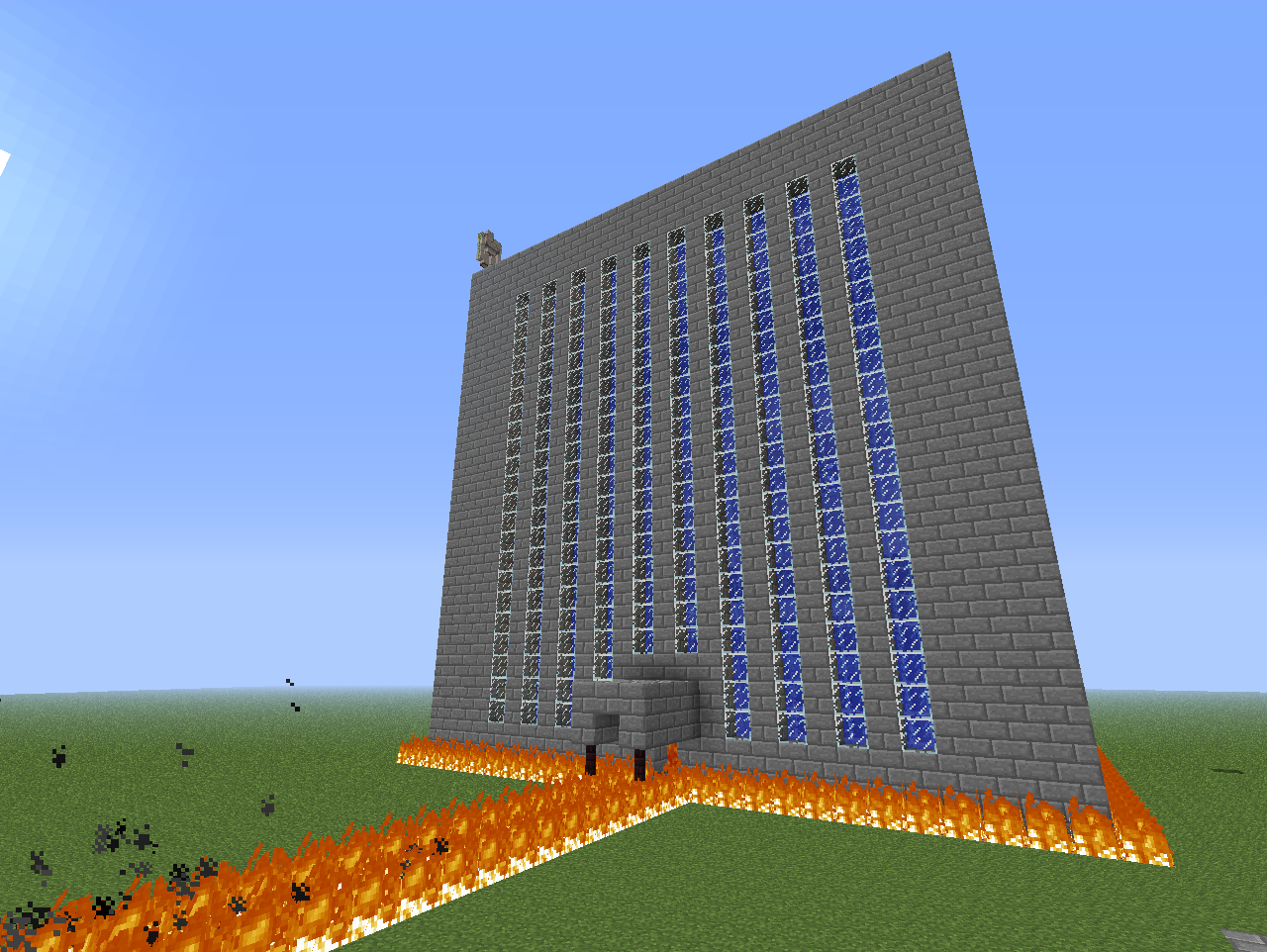 minecraft is huge | Zack\'s Blog: Big House (yes that\'s really what I ...