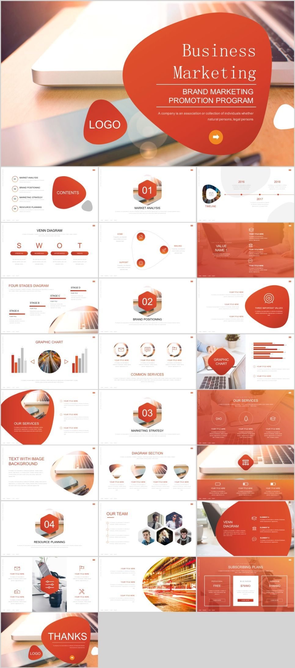26+ Business marketing analysis PowerPoint template | Business ...
