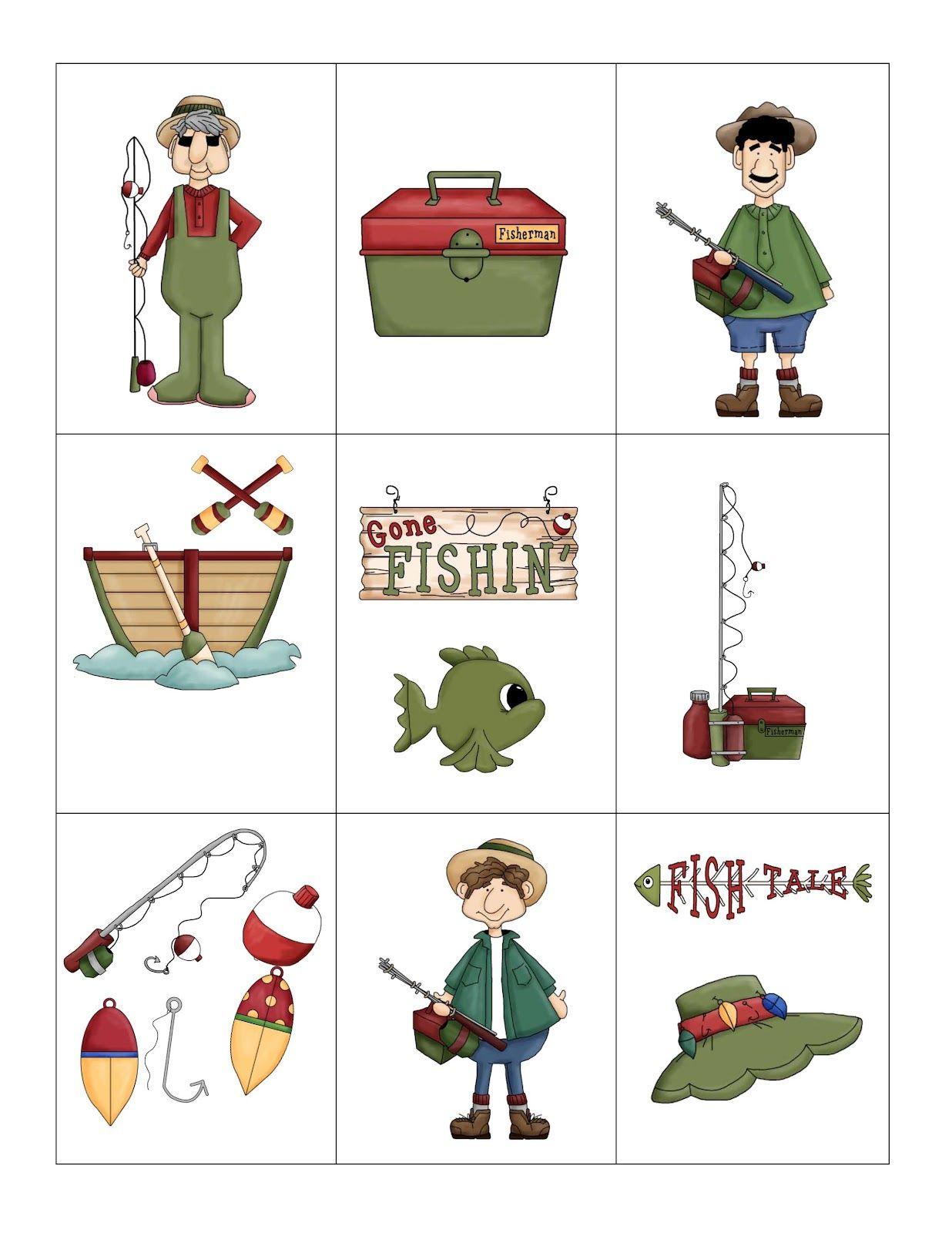 preschool printables free gone fishing printablefor camping unit - Fish Printables
