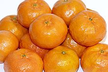 Mandarínky - Plody mandarínovníka