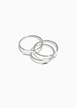 & Other Stories | Trio Rings
