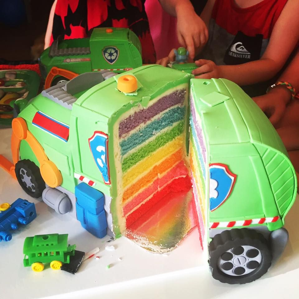 Garbage Truck Cake Autos Cake In 2019 T Truck Cakes