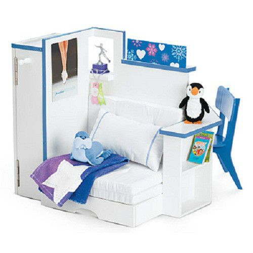 American Girl Doll MIAu0027S BEDROOM + ACCESSORIES For Room Bed Chair Furniture  +