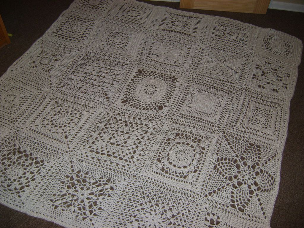Patterns for crochet squares | crochet | Pinterest | Manta ...