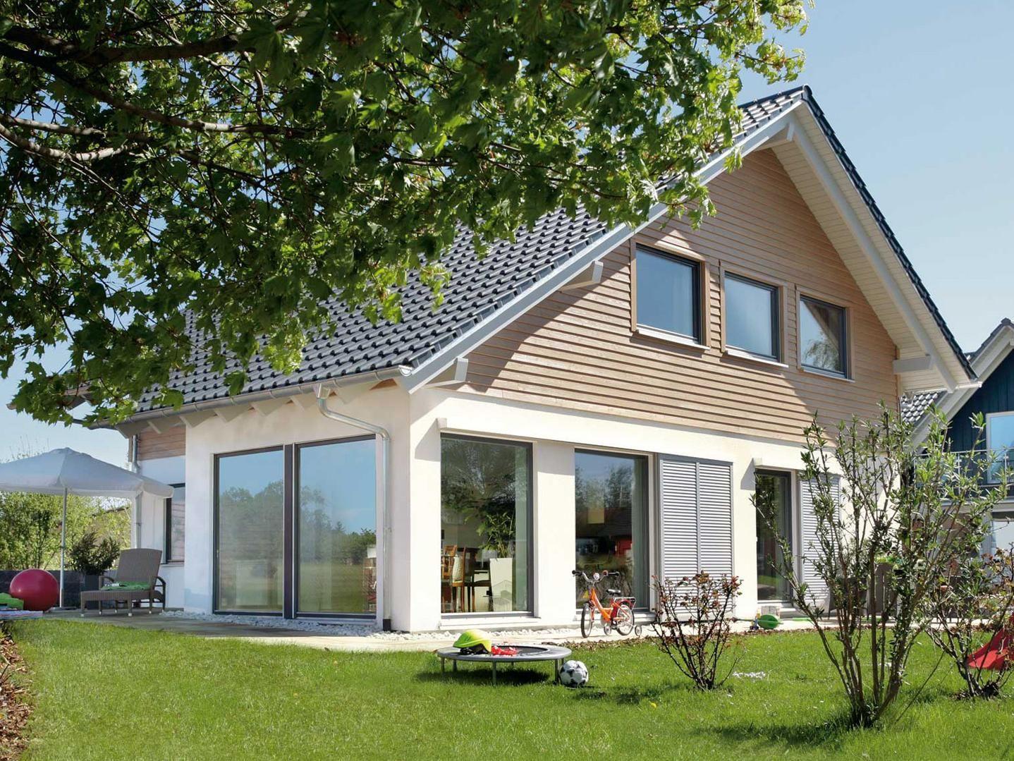 Hausfassade gestalten Putz, Holz, Stein? in 2020