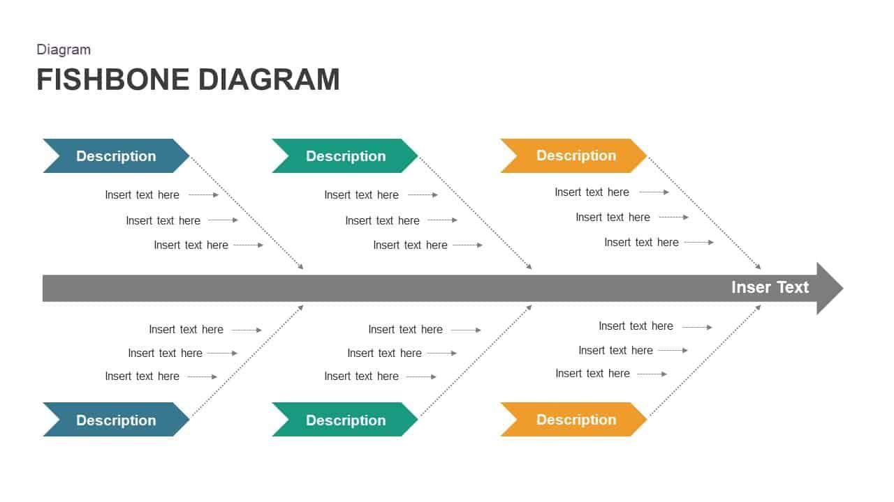 Free Fishbone Diagram Powerpoint Template Powerpoint Templates Powerpoint Template Free Powerpoint