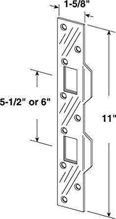 e5ae44aa1397e446d5f2d57ec406f5a7 door lock strike plate prime line products u 10385 door strike