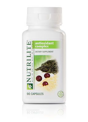Nutrilite Antioxidant Complex Contains 8 Antioxidants Including