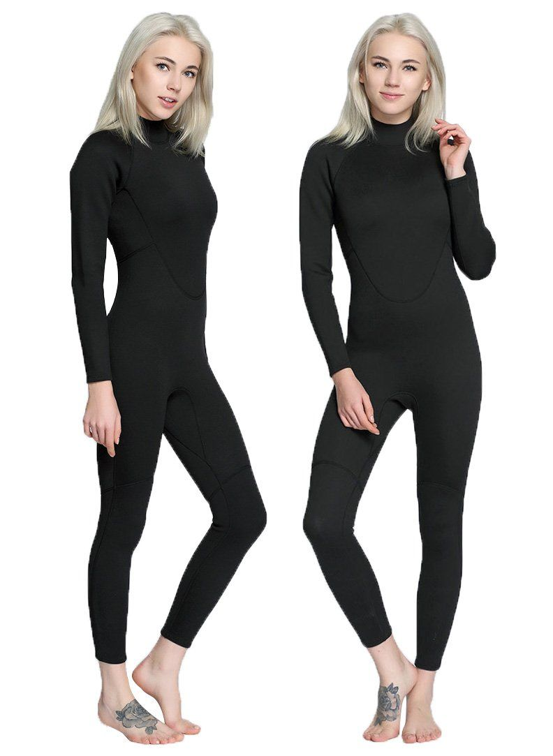 e5fb3ba5b8 Canoeing - Womens Wetsuit 2MM Full Body One piece Surfing Diving Snorkeling  Wet suitLargeWomen   You can find even more details by checking out the  photo ...