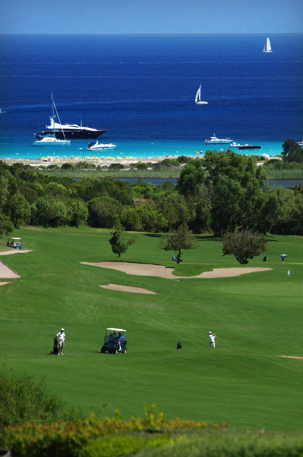 Costa Smeralda Sardegna Our Residential Golf Lessons Are For Beginners Intermediate Advanced Our Pga Professionals Teach Golf Courses Golf School Golf Clubs