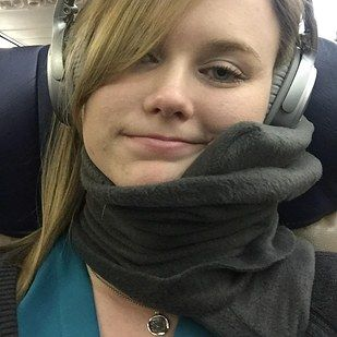 A cozy travel scarf that'll make uncomfortable flights (all of them, frankly) a thing of the past. | 22 Products On Amazon Our Readers Are Loving Right Now