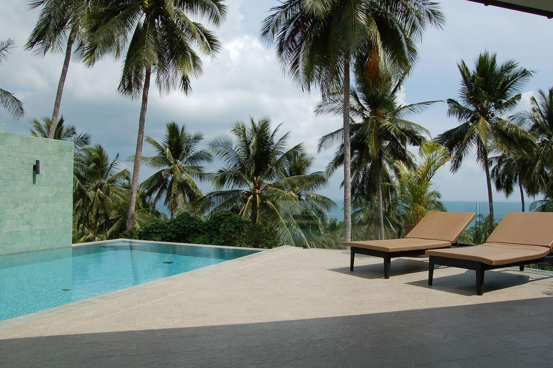 2 Bed villa private pool sea view Häuser zur Miete in Ko