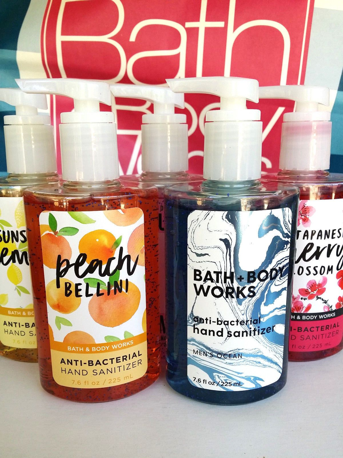 Bath And Body Works Anti Bacterial Large Pump Hand Sanitizer 7 6