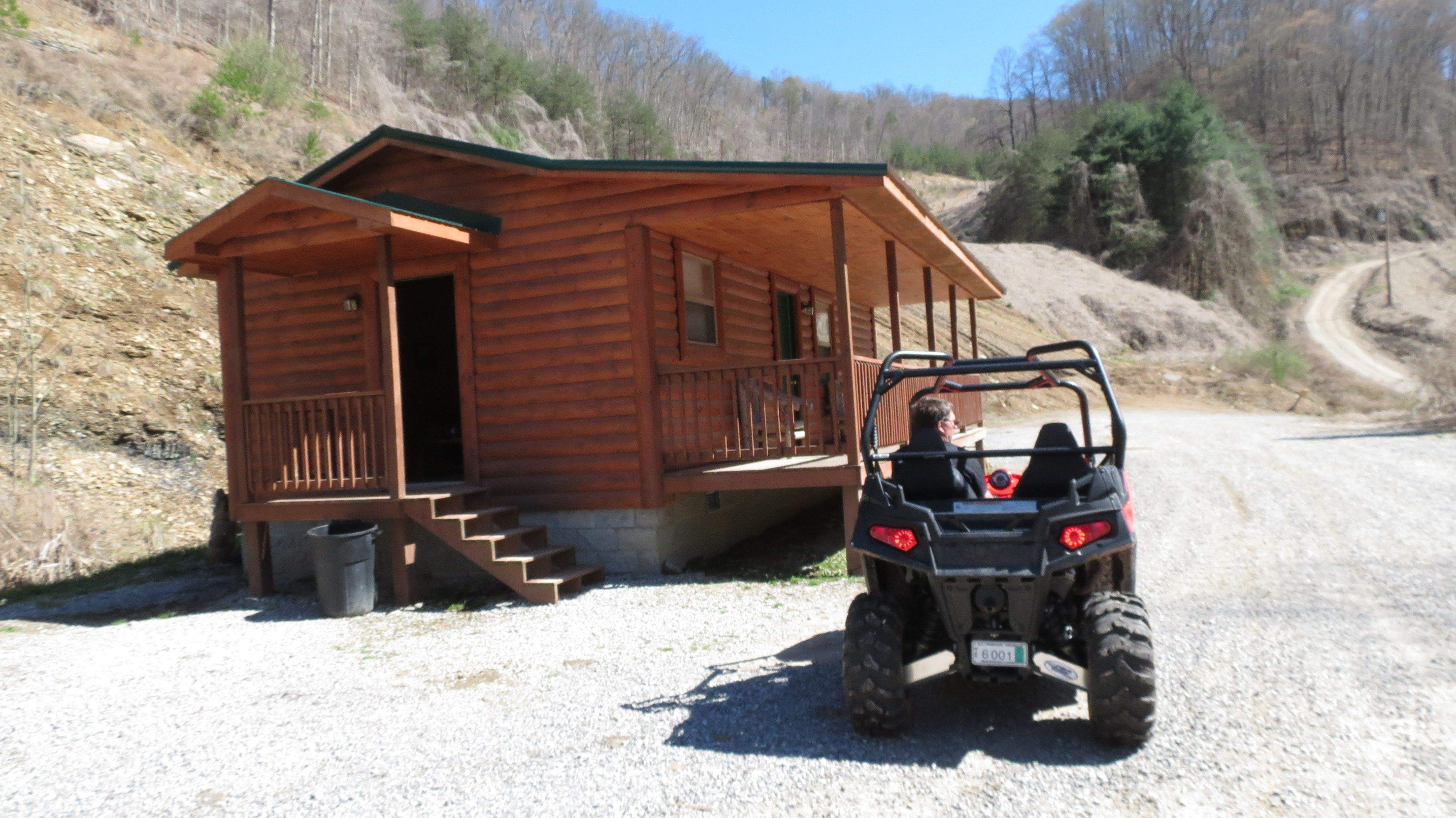The Miners Cabin Cabin Barbeque Grill Harlan County