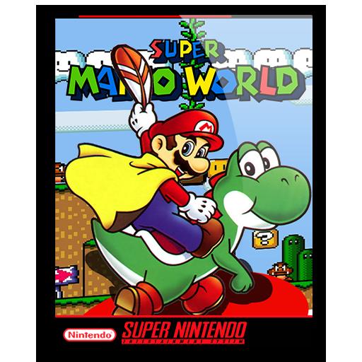 Super Mario World Icon By Vigorzzerotm On Deviantart In 2020 Super Mario World World Icon Super Mario
