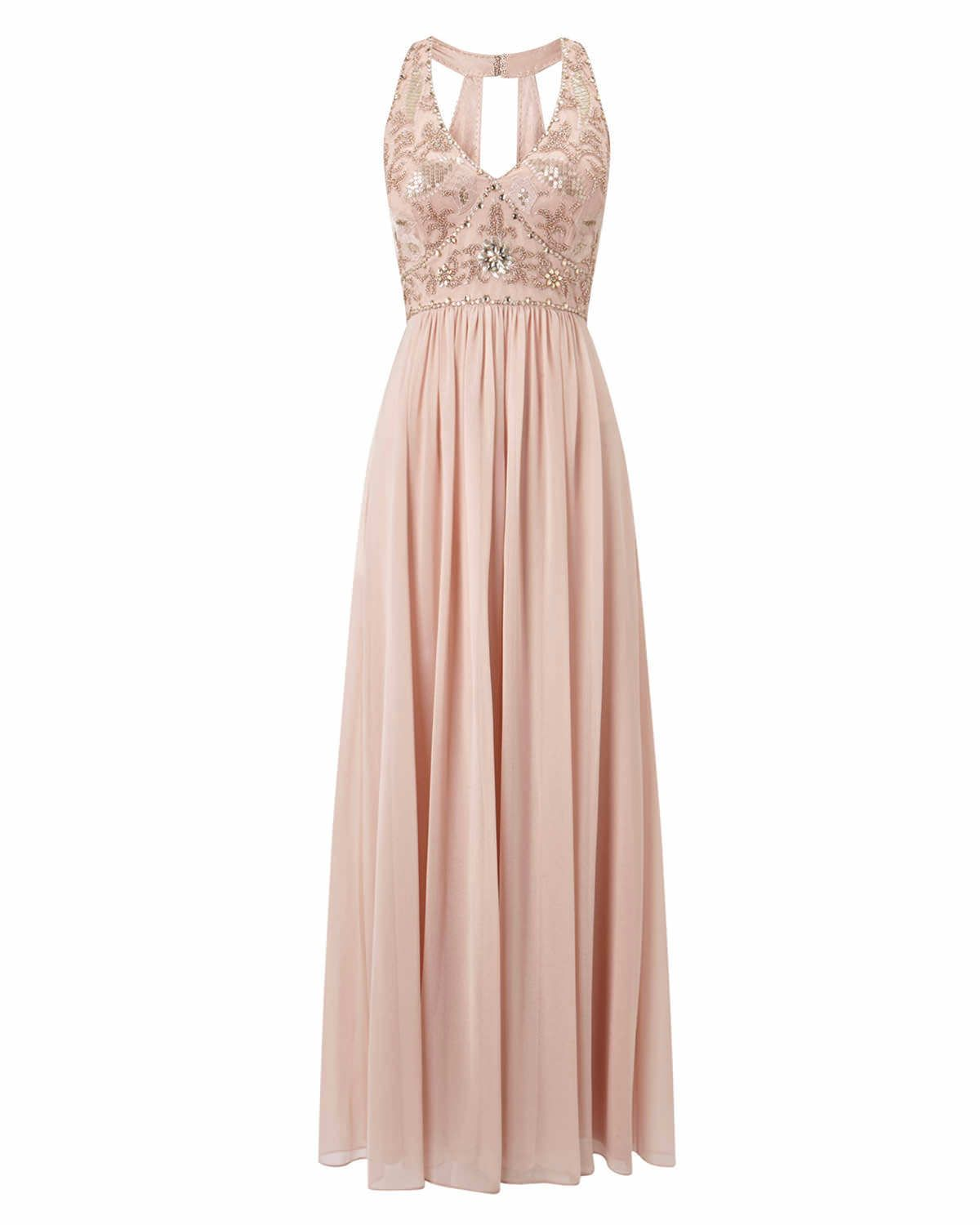 Phase Eight Etienne Embellished Full Length Dress Pink   Some day ...