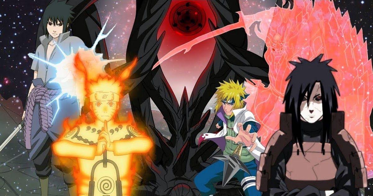 Wallpaper Naruto Rikudou Sennin Mode Langit