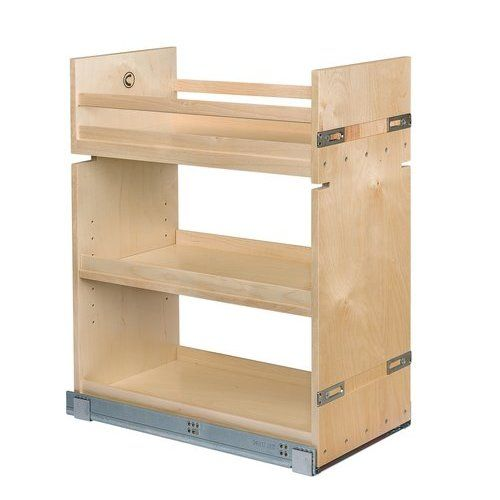 Best Base Cabinet Organizer Natural Finish 12 W Soft Close 640 x 480