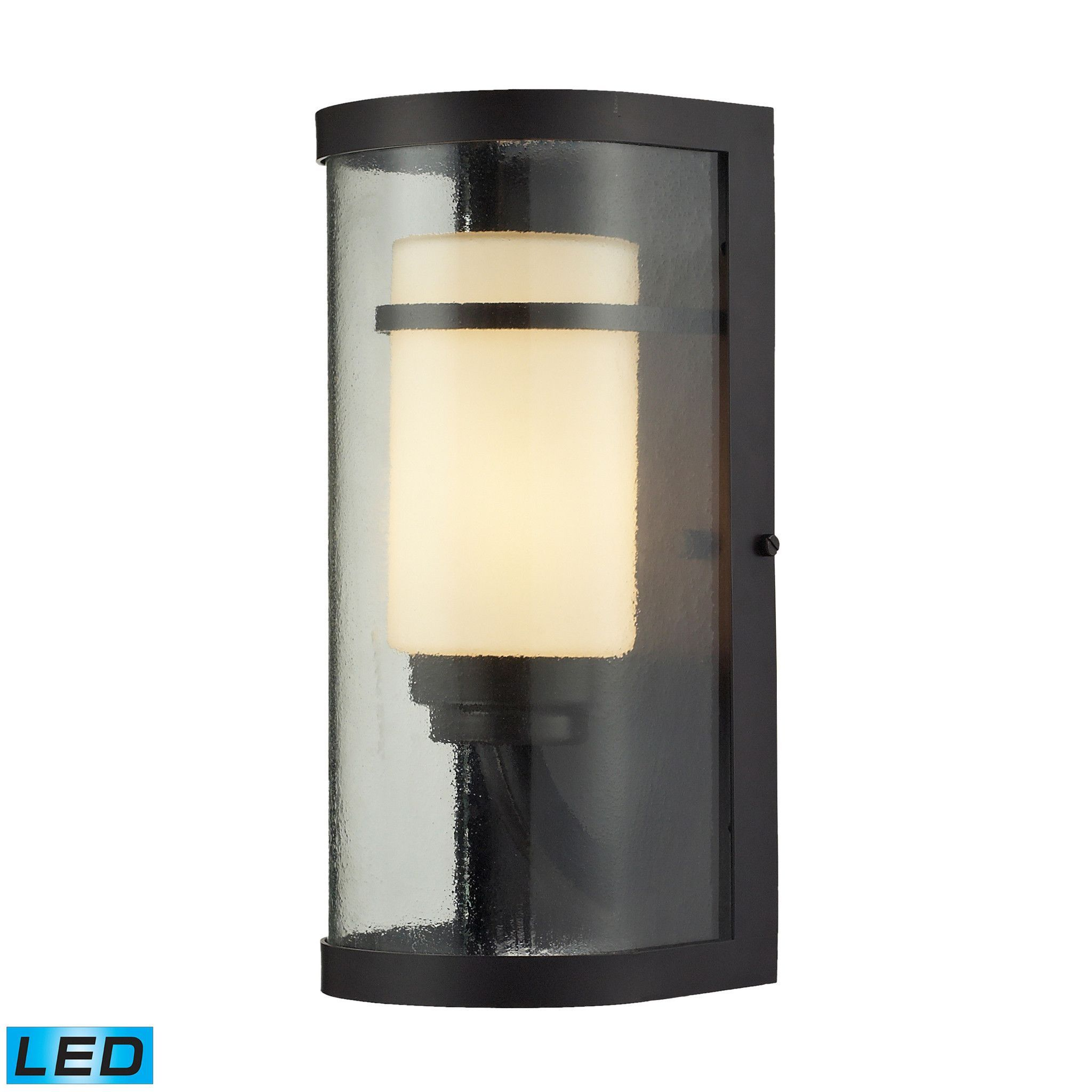 elk lighting 141011led caldwell outdoor wall light
