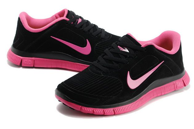 best cheap bf6a7 1cafb Womens Nike Free 4.0 V3 Suede Black Pink #Black #Womens ...