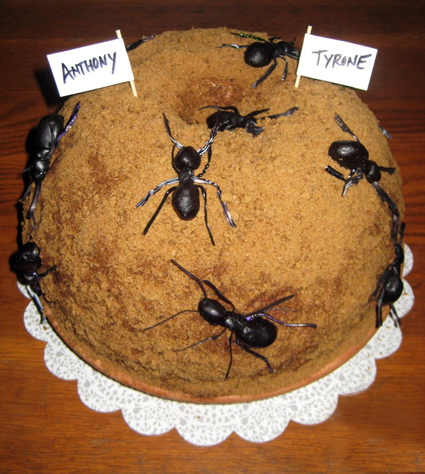 которым картинка торт муравей сочетании
