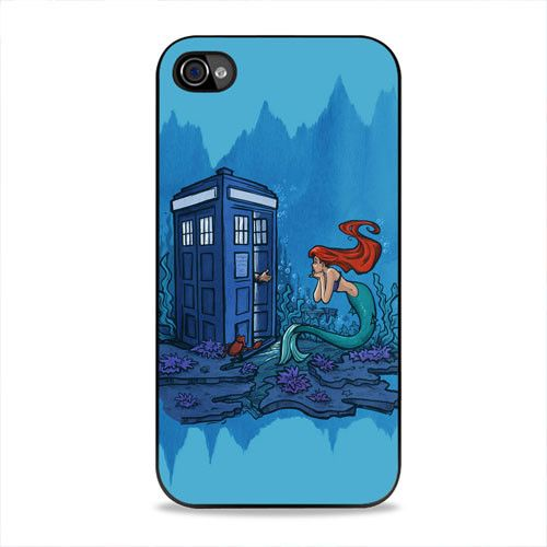 Doctor Who Meets Ariel iPhone 4, 4s Case