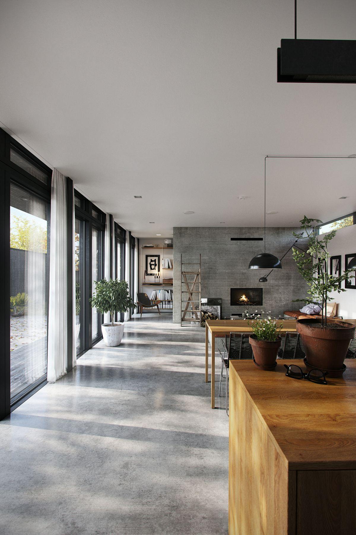 Showcase And Discover Creative Work On The World S Leading Online Platform For Creative Industries Projectos De Casas Design De Casa Edificios Modernos