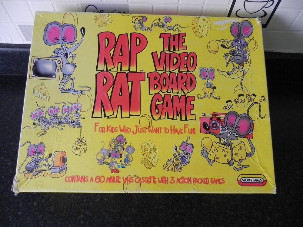 Spears Games Rap Rat The Video Board Game Retro Collec Spears