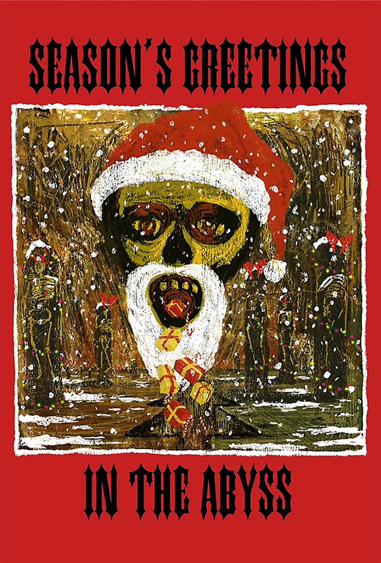 Heavy Metal Christmas.You Need These Slayer Christmas Cards Skullsnbones Metal