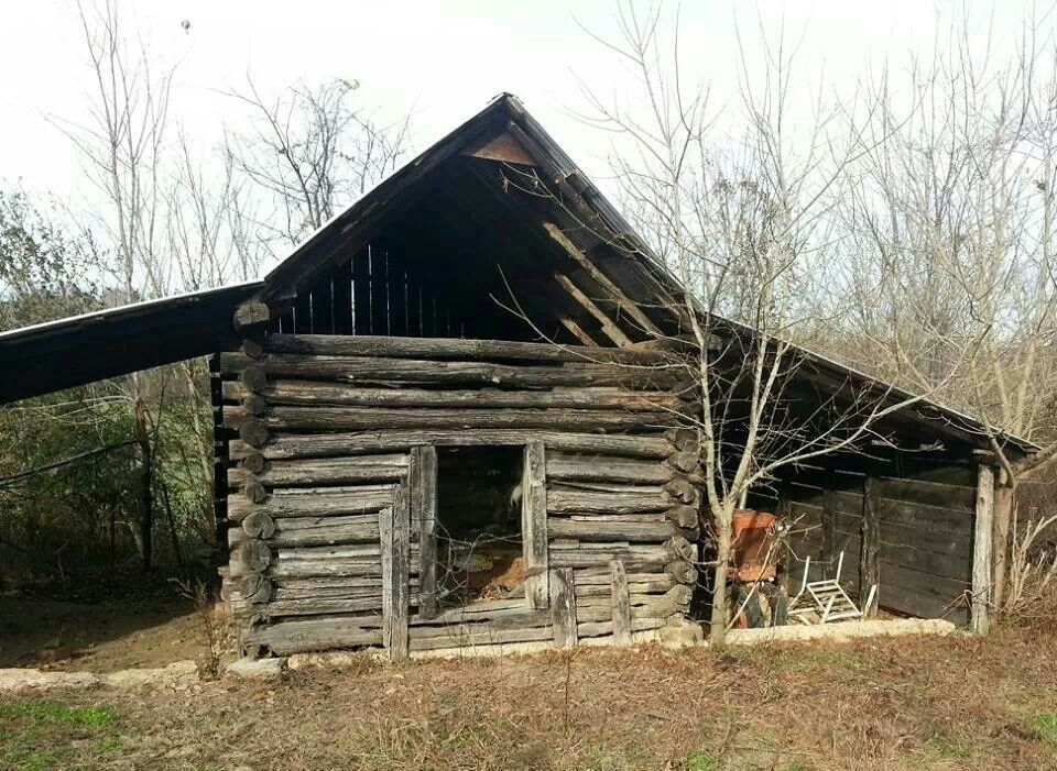 Tennessee barn old barns and homes pinterest for Log barn homes