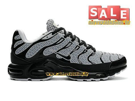 newest 610f7 16139 NIKE AIR MAX TNTUNED REQUIN TXT (KPU) - CHAUSSURES NIKE PAS CHER POUR  HOMME Gris froidNoir 604133-105