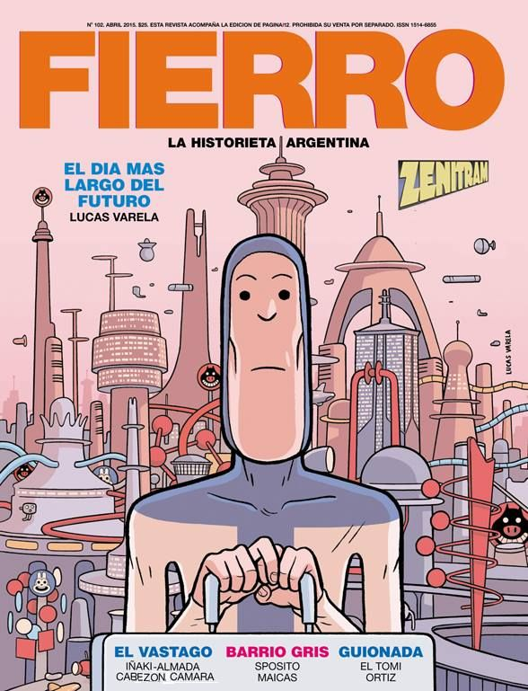 Fierro Abril 2015 Sci Fi Books Graphic Novel Comic Frame