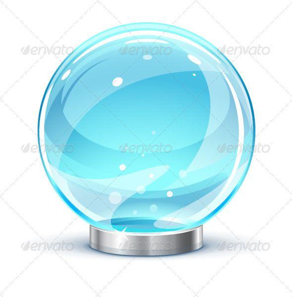 Vectors Magic Ball Graphicriver Ball Glow Crystal Ball