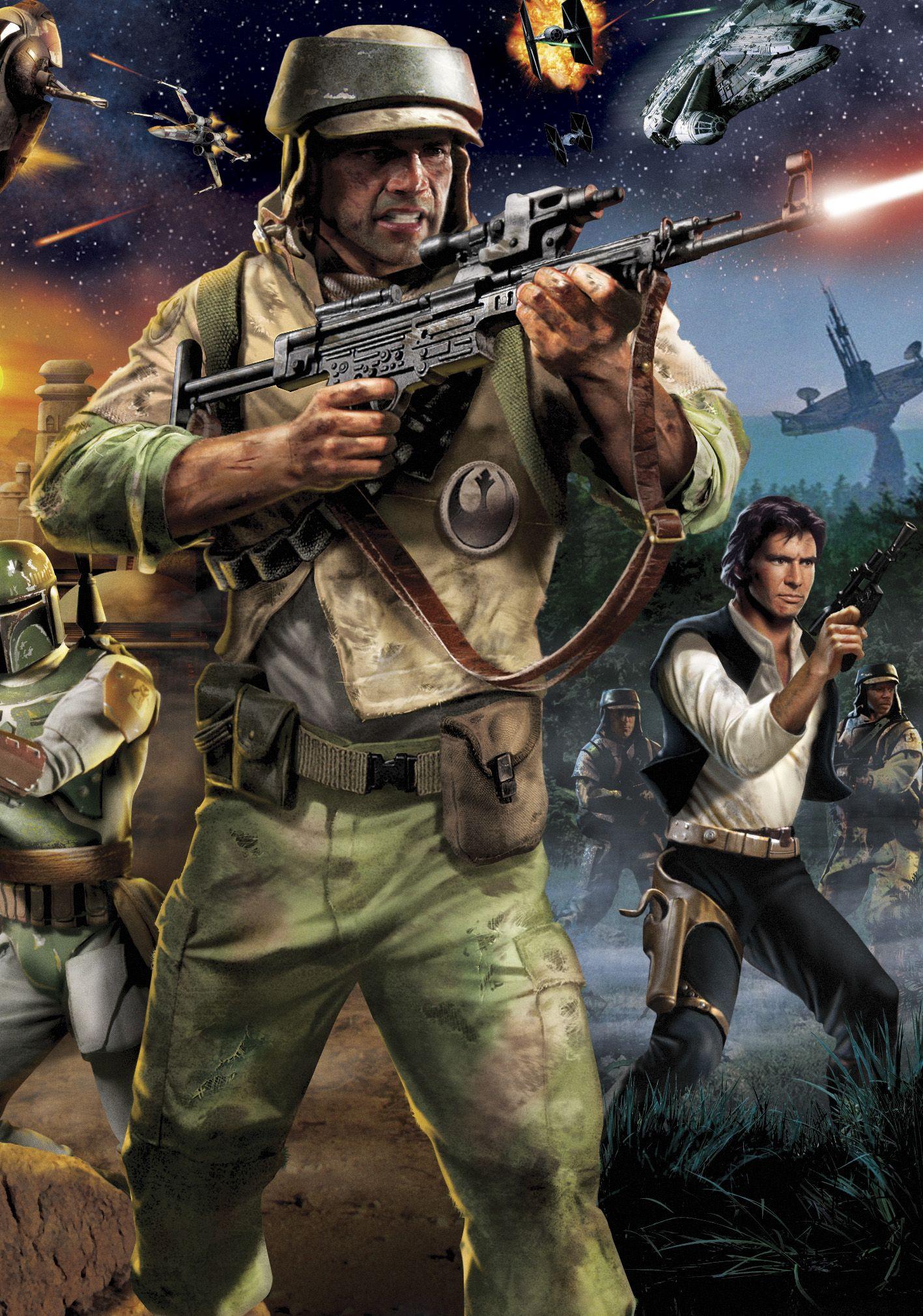 Renegade Squadron Commandos And Han Solo At War Star Wars Characters Star Wars Artwork Star Wars Illustration