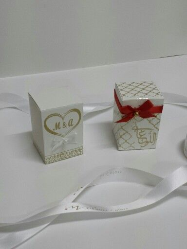 New Set Wedding Favor Rippon Silver Favorbox Gift Weddingbox Print Pink Girl Water Stickes Tissue Nam Place Card Holders Box Design Card Holder