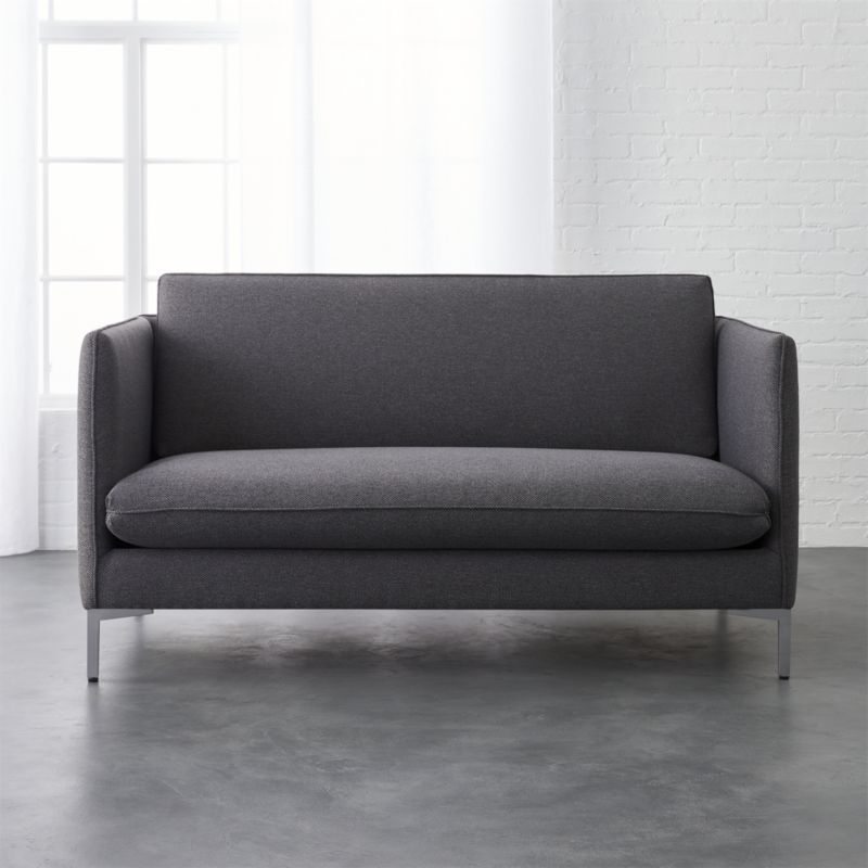 flatiron grey apartment sofa | Small spaces, Budgeting and Flats