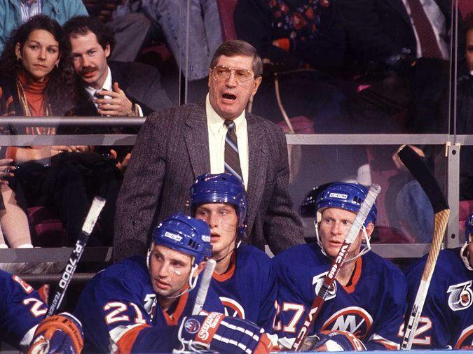 Al Arbour Coach Of Islanders 1980s Dynasty Dies At 82 New York Islanders Sport Hockey National Hockey League