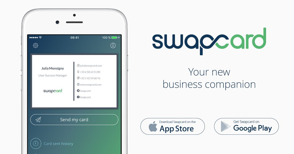 Scan business cards, manage your contacts effortless and share ...